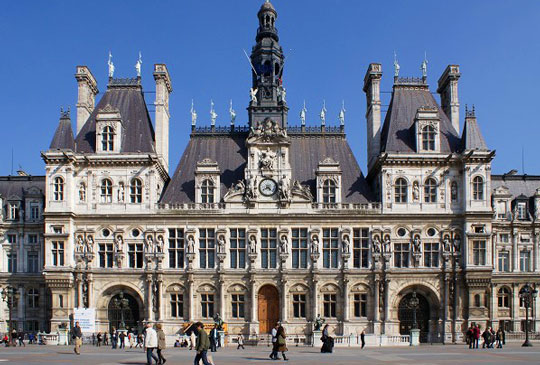 The hotel de ville in paris un jour de plus paris - Office tourisme italien a paris ...