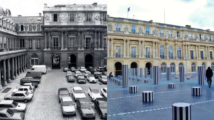 cour palais royal avant apres