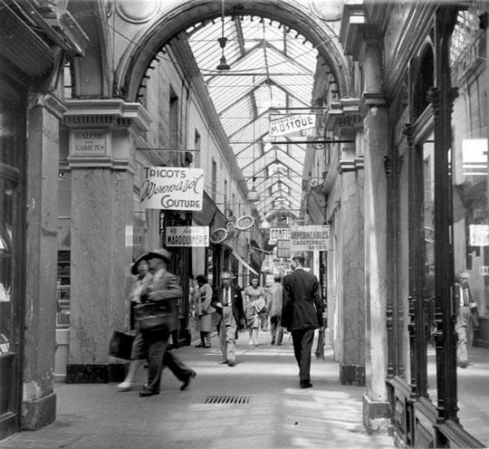 passage des panoramas 1940