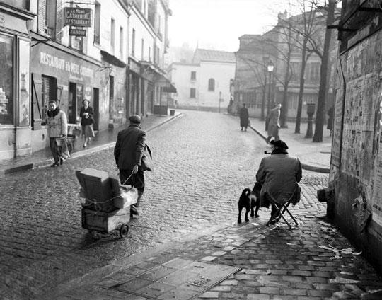 place du tertre 1947
