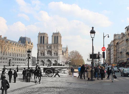 Paris1900 golem13 NotreDame