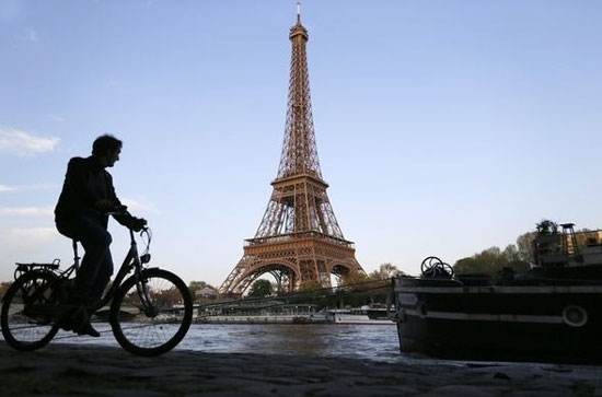 Cycling Routes In Paris