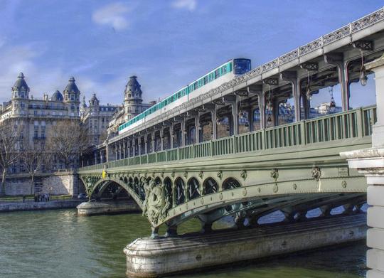 histoire metro paris
