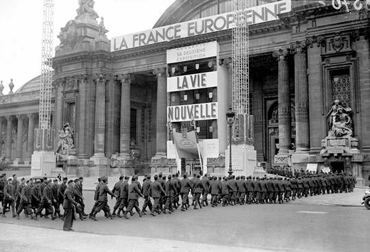 expo Le quotidien des parisiens sous l'Occupation