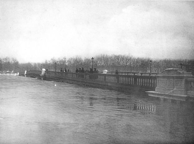 crue 1910 paris pont solferino