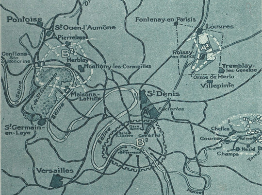 plan faux paris 1918