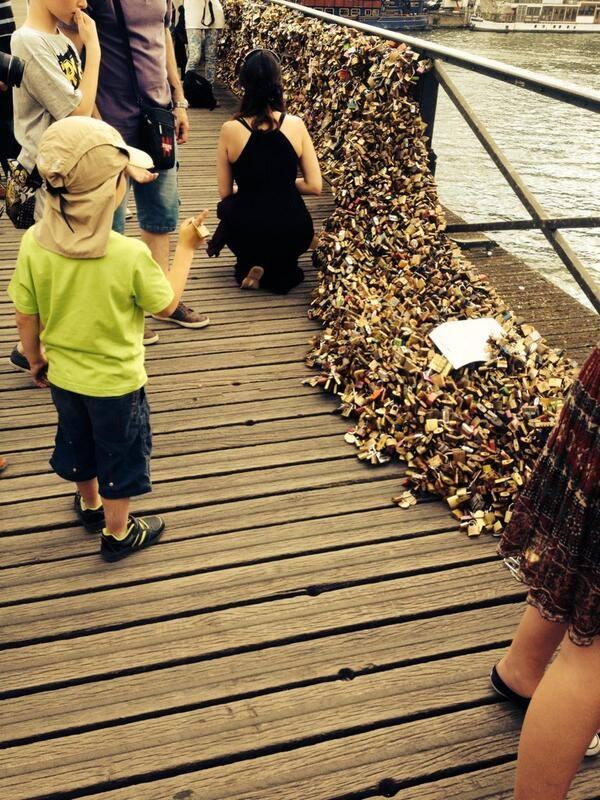 pont des arts effondrements