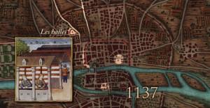 Halles Paris sous Philippe Auguste