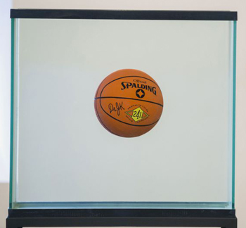 koons ballon basket