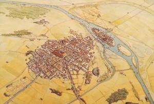 plan lutece époque gallo romaine