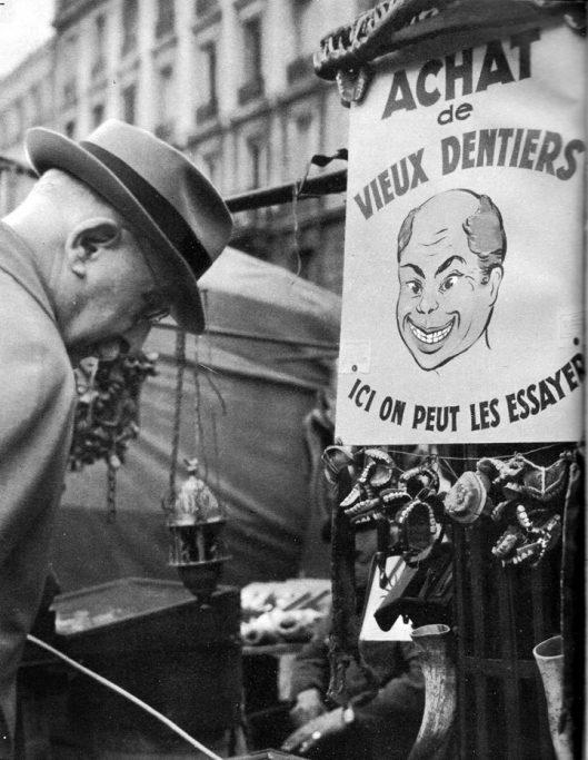 achat vieux dentiers paris