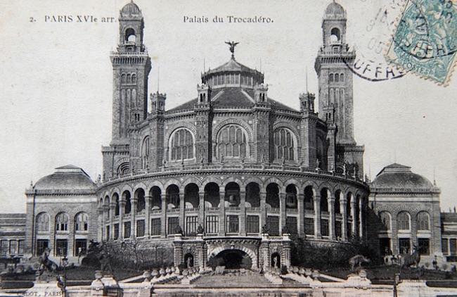 ancien palais du trocadero