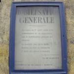 affiche de mobilisation générale paris