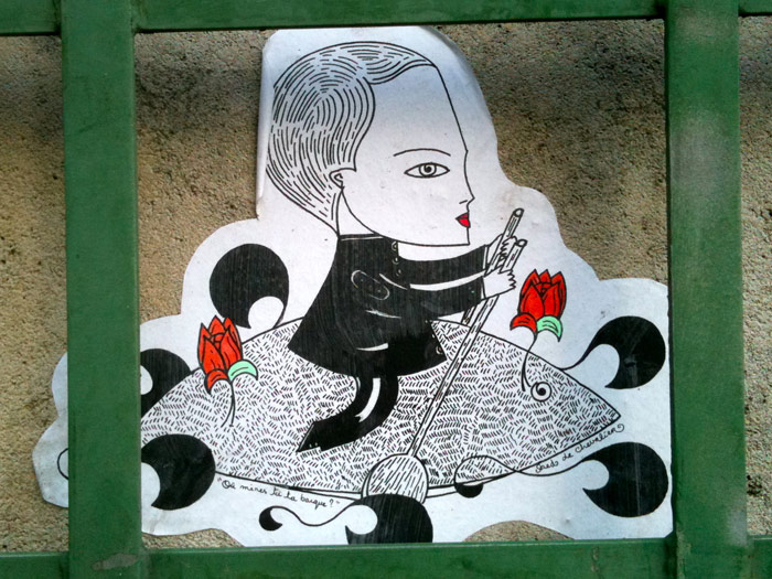 street art fred le chevalier