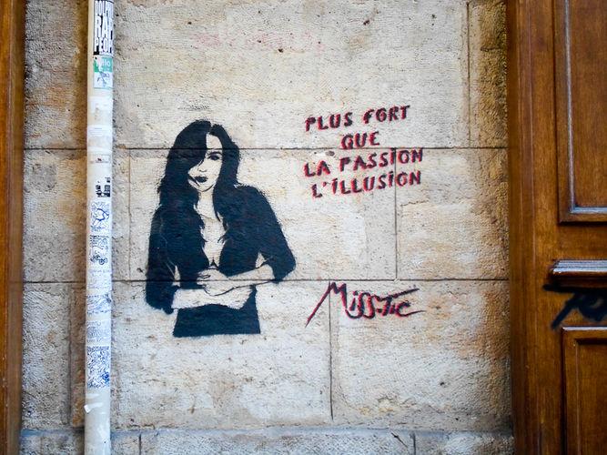 street art miss tic paris