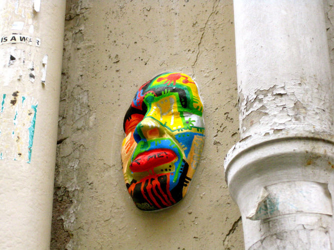 street art paris gregos
