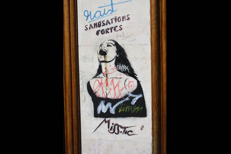 street art paris miss tic
