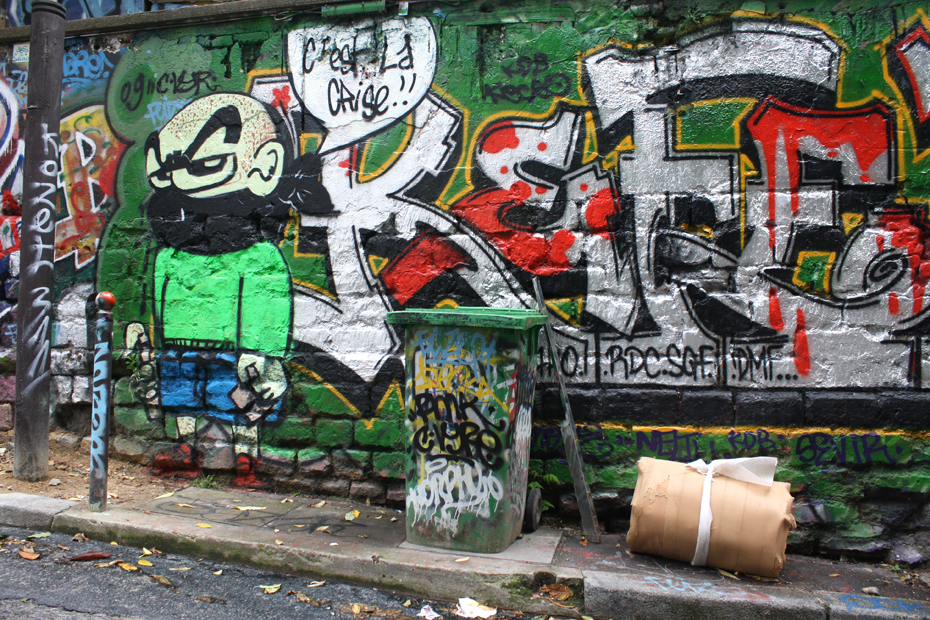 France, Paris - street art and graffiti