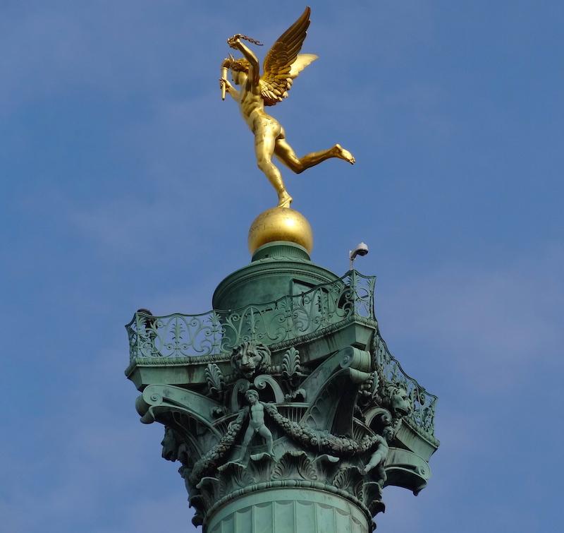 colonne juillet bastille paris