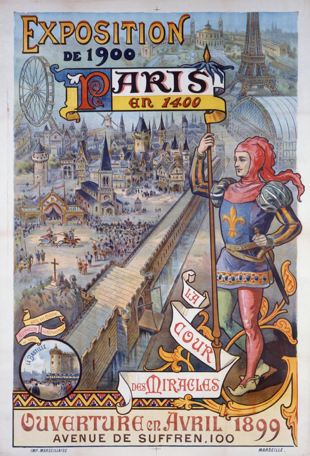 affiche expo universelle 1900 paris