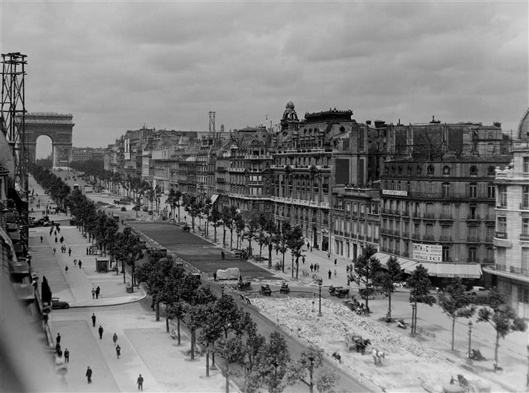 champs elysees 1929