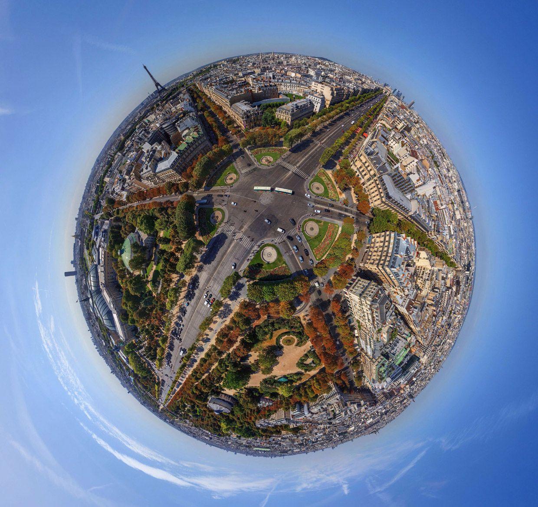 photo spherique paris