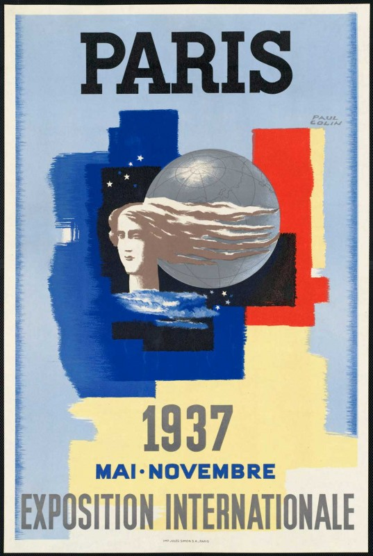 poster vintage expo paris 1937