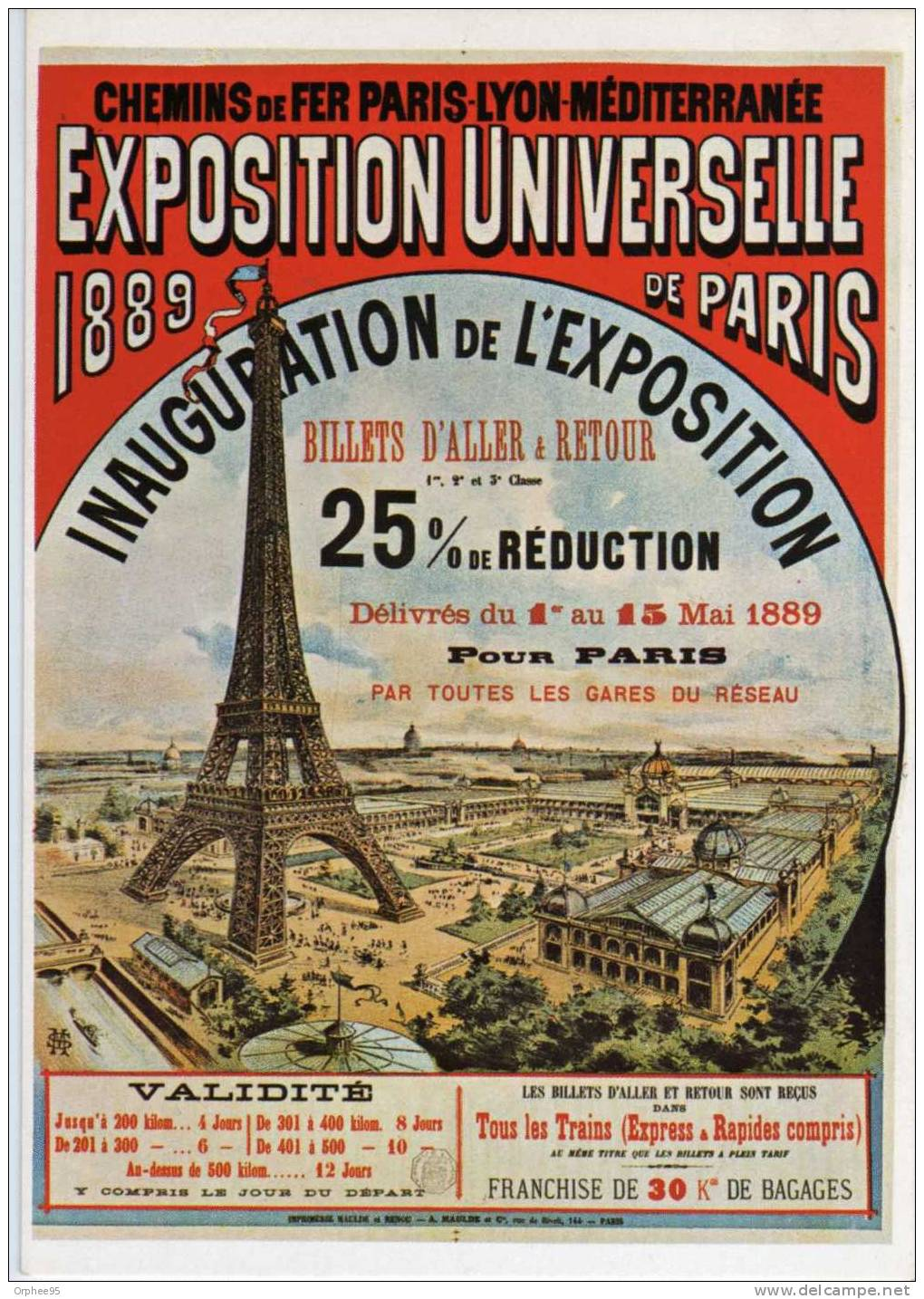 vintage poster world fair paris