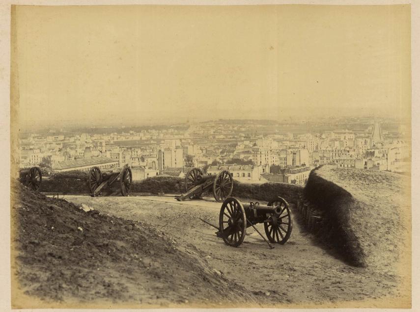 canons montmartre commune de paris