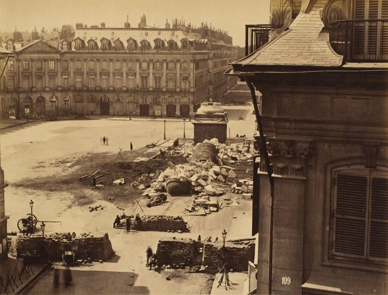 18 mars 1871 - Début de la Commune de Paris Colonne-vendome-commune-paris
