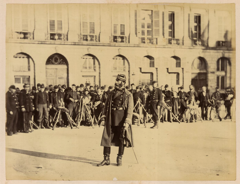 18 mars 1871 - Début de la Commune de Paris Photo-communards-paris