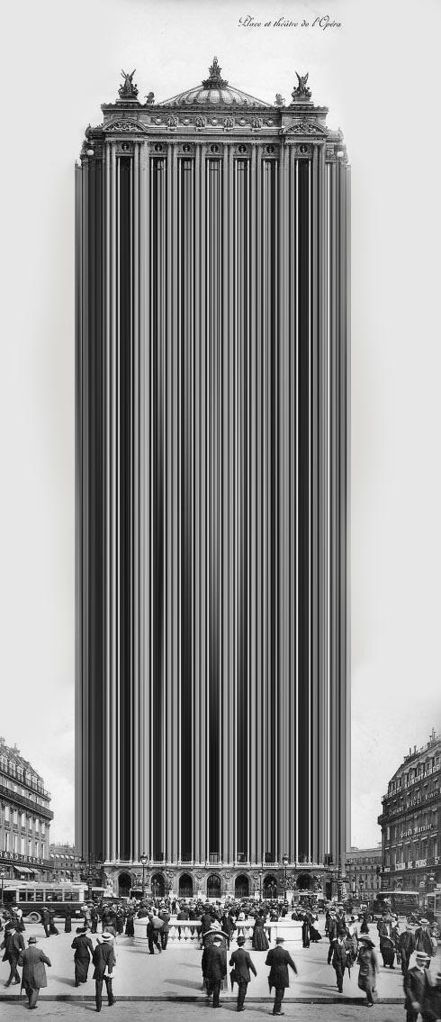 haussmanhattan photomontage opera garnier