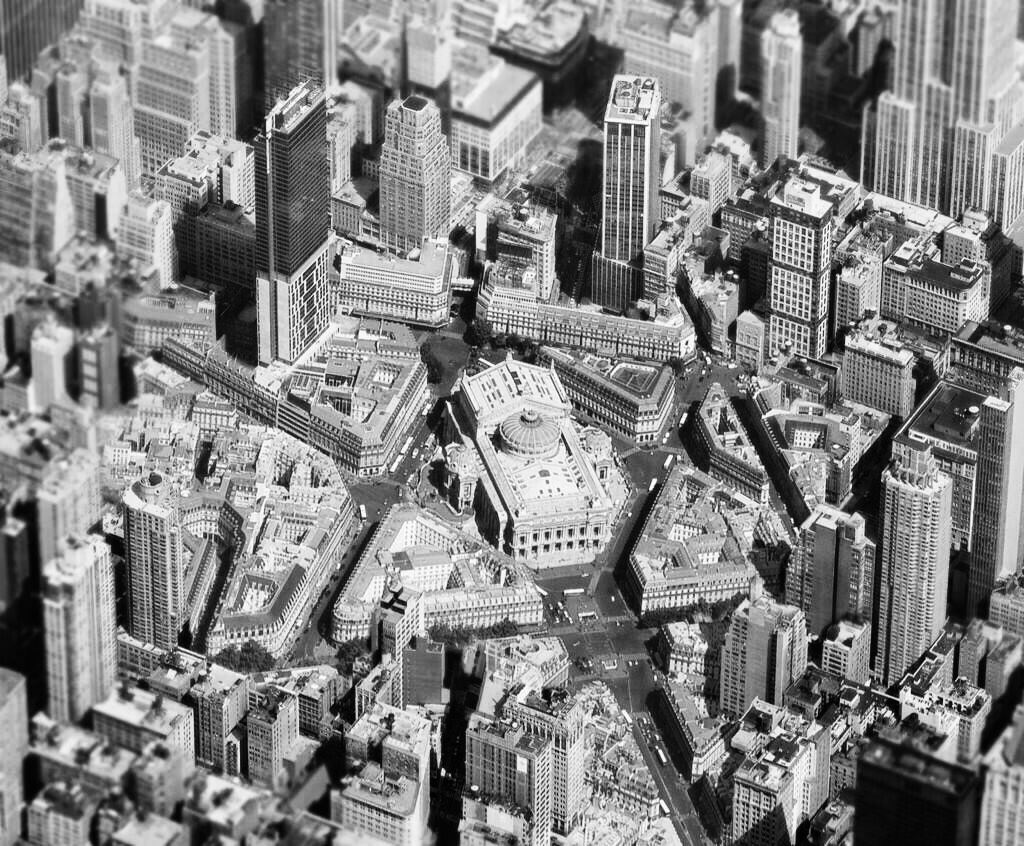 haussmanhattan photomontage paris new york