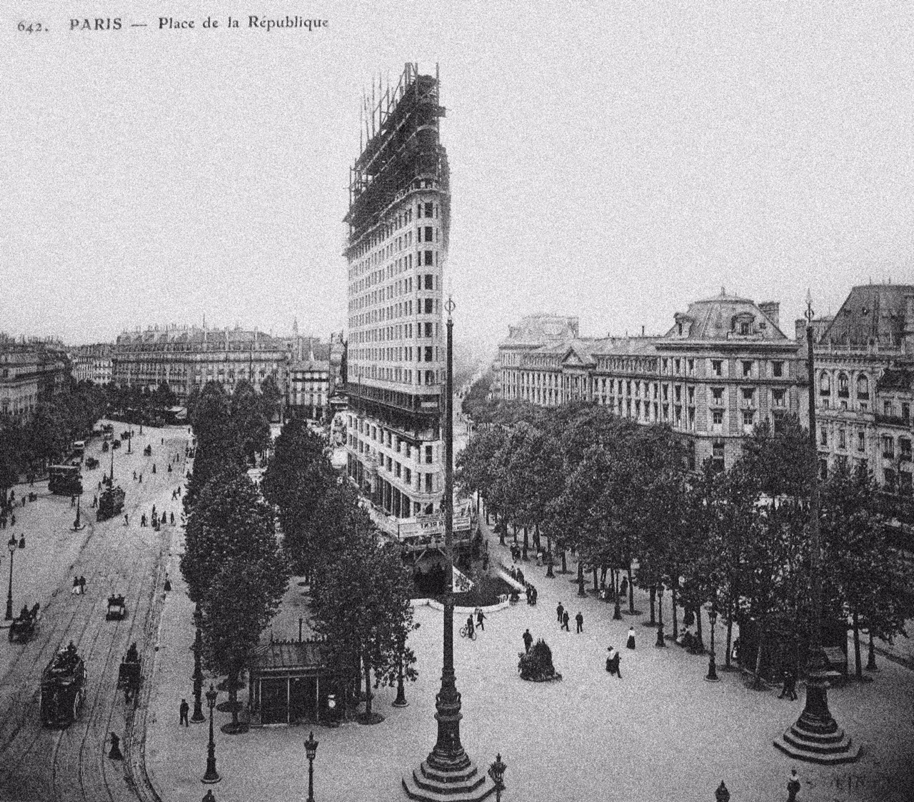 haussmanhattan photomontage republique