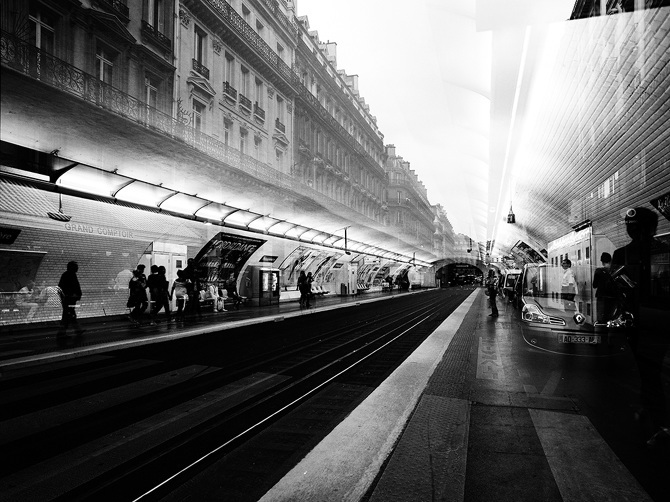 metro paris jeremie dru
