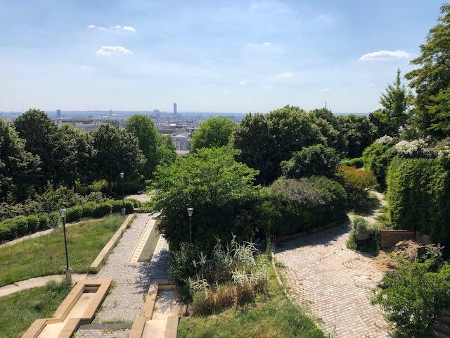 parc de belleville vue belvedere