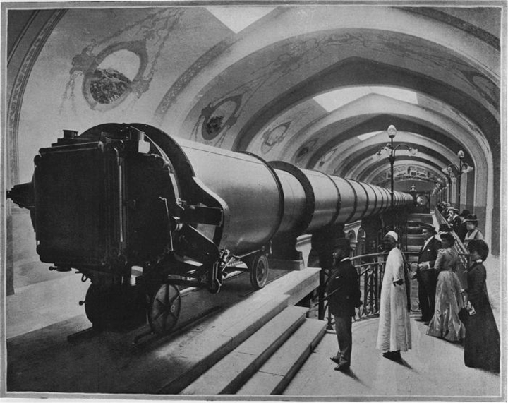 telescope paris 1900