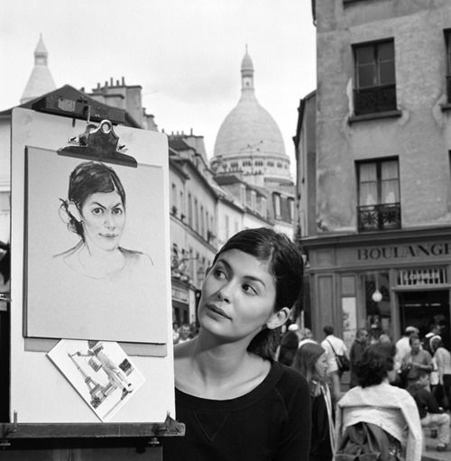 audrey tautou photo montmartre