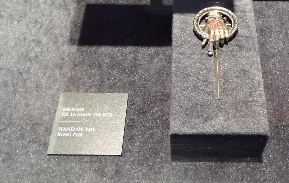 photo broche main du roi expo got paris
