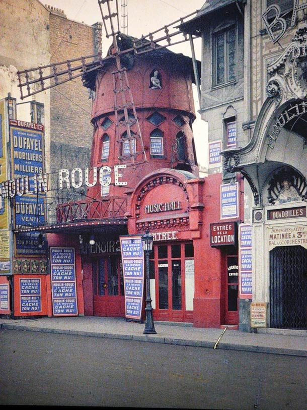 photo moulin rouge 1914