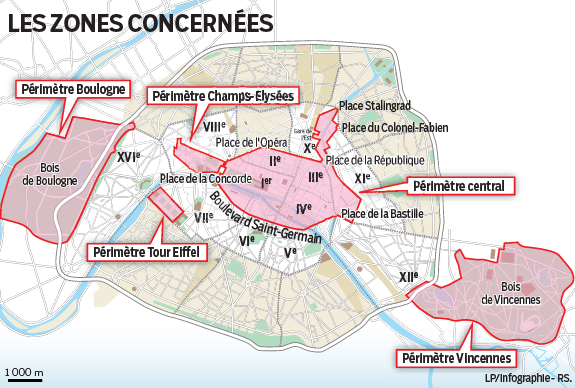 plan journees sans voiture paris