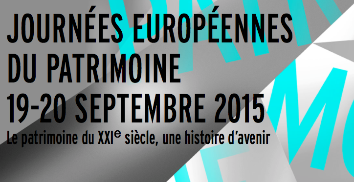programme journees patrimoine 2015