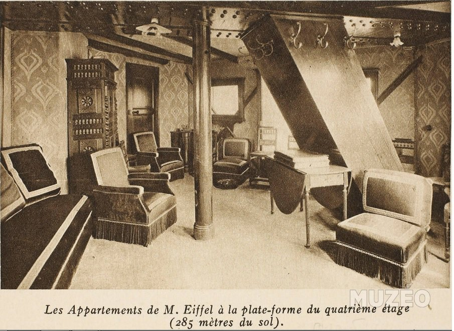 appartements gustave eiffel tour eiffel