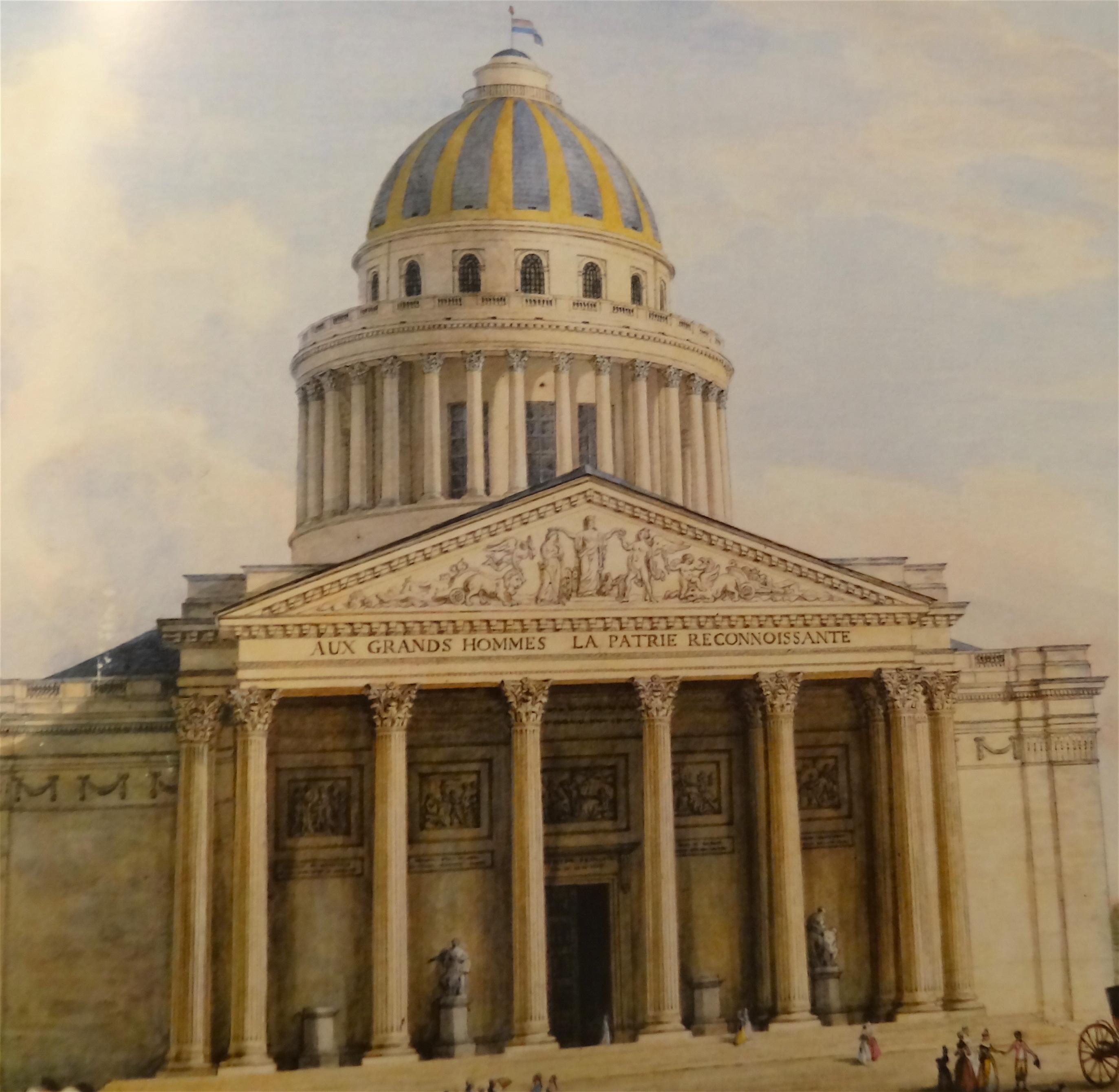 deuxieme fronton pantheon