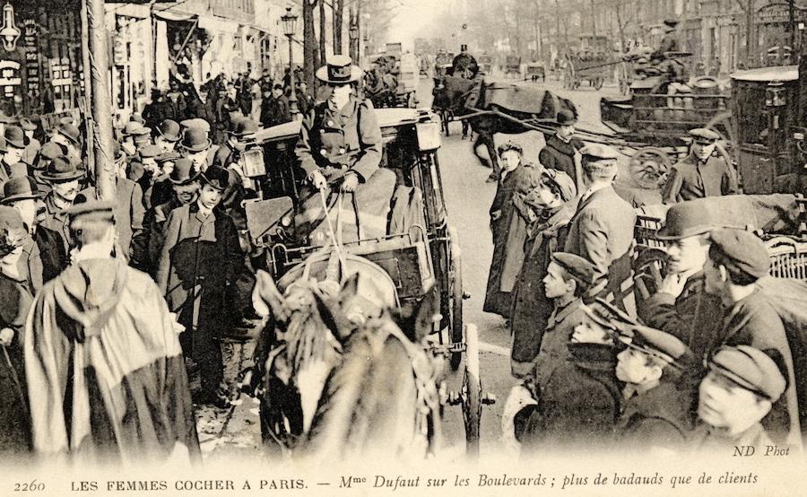 femmes cochers paris