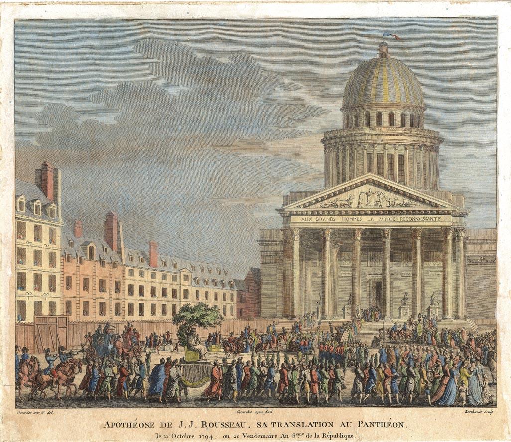 pantheon deuxieme fronton de moitte