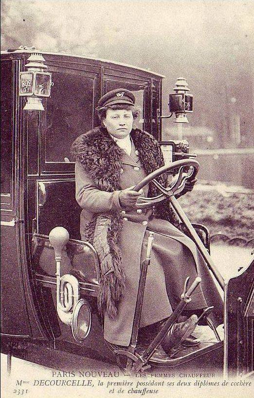 photo madame ducourcelle femme taxi