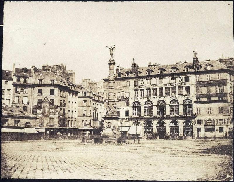place du chatelet 1851