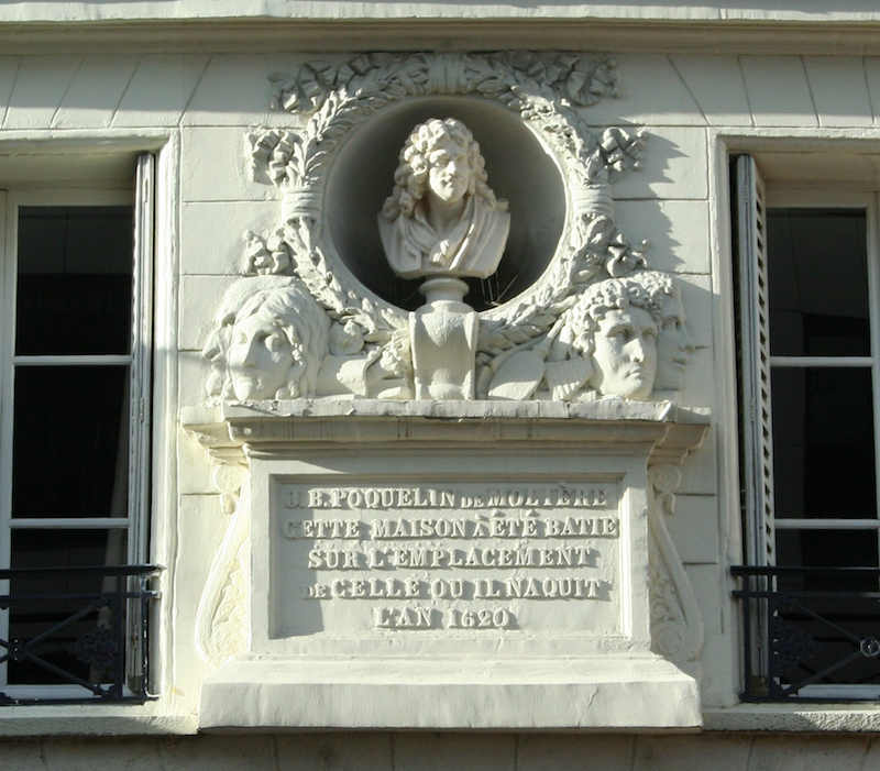 fausse plaque Moliere Pont Neuf