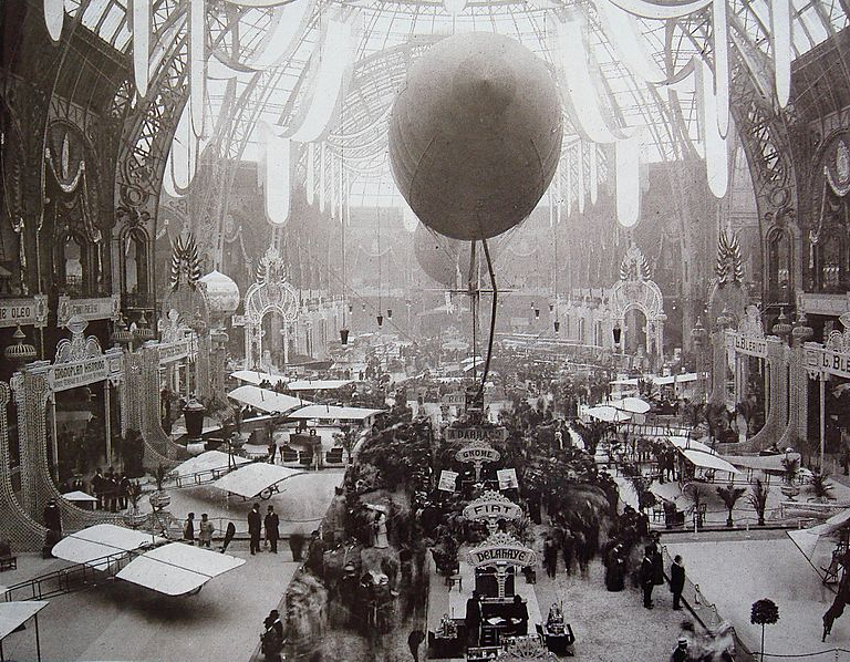 premier salon aeronautique grand palais 1909